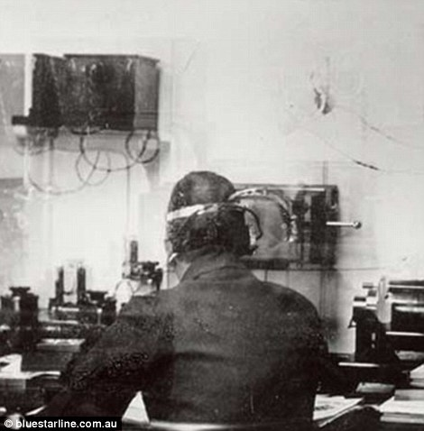 Titanic's Marconi Room had a state-of-the-art system that allowed passengers to send electronic messages to those on land