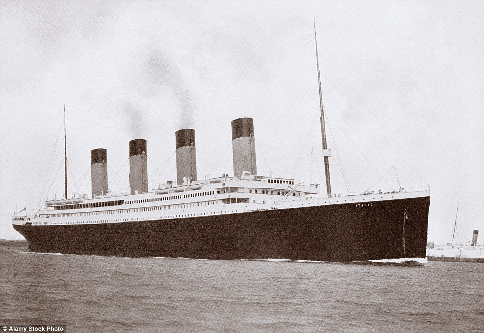 The original Titanic was the largest ship in the world when it set sail on its ill-fated maiden voyagefrom Southampton to New York in 1912